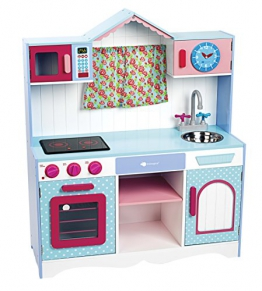 itsImagical 87608 - Provence window kitchen, Holzküche für Kinder