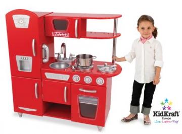 KidKraft 53156 – Rote Retro-Küche