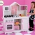 KidKraft 53222 – Moderne Bauernküche, Spielküche aus Holz für Kinder -