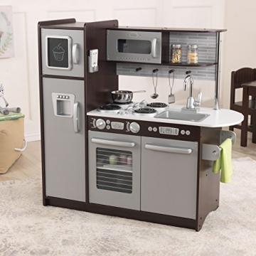 KidKraft 53260 – Espressofarbene Küche Uptown -