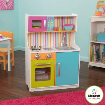 KidKraft 53294 – Kinderküche, in hellen Farben -