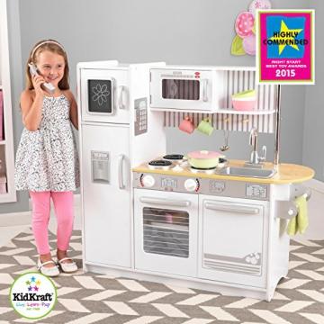 KidKraft 53335 – Uptown Küche, weiß -