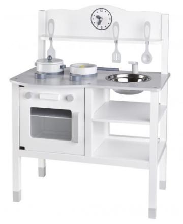Kids Concept 412927 Kinderküche weiß / grau -