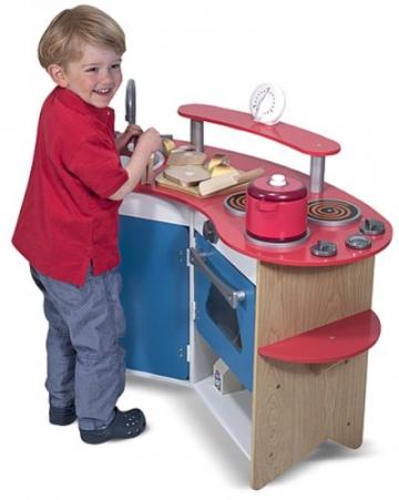 Kinderküche Holz Küche Küchentheke -