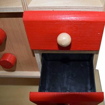 Kinderküche Küchenmöbel Holz Möbel Herd Spüle Holzherd Neu! -