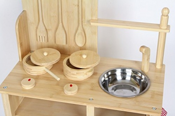 Kinderküche / Spielküche Küche Bambus -