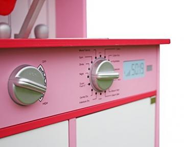 LEKEEZ Kinderspielküche Küchespielzeug Haushaltspielzeug für Rollenspiel für Kinder Mädchen 60*30*100cm -