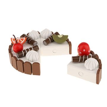 MagiDeal Kaufladen Holz Geburtstagskuchen Kinderküche Kinder Spielküche Rollenspiel -