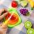 Peradix Schneideobst Obst Gem¨¹se Spielzeug Kunststoff mit Schneidebretter 14 PCs -