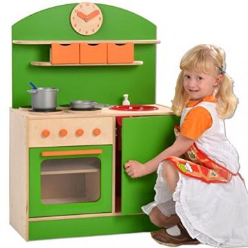 Plaho Kinderküche Bilbao mit Bar grün -