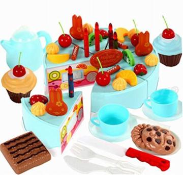 Spielen Sie Lebensmittel Spielen Kitchen Set für Kinder über 3Years, Obstkuchen -