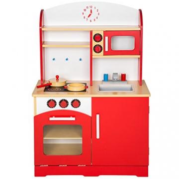 TecTake Kinderküche Spielküche aus Holz – diverse Modelle – -