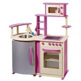 topmoderne Spielküche aus Holz mit vielen Details von howa
