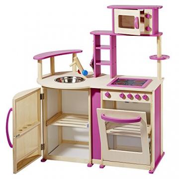 topmoderne Spielküche aus Holz mit vielen Details von howa -