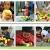 Wolfbush 23pcs Plastik Essen Spielzeug Obst Gemüse Schneiden Spielzeug Plastic Food Toy Fruit Vegetables Cutting Toy Early Development Education Toy for Baby – Farbe zufällig -