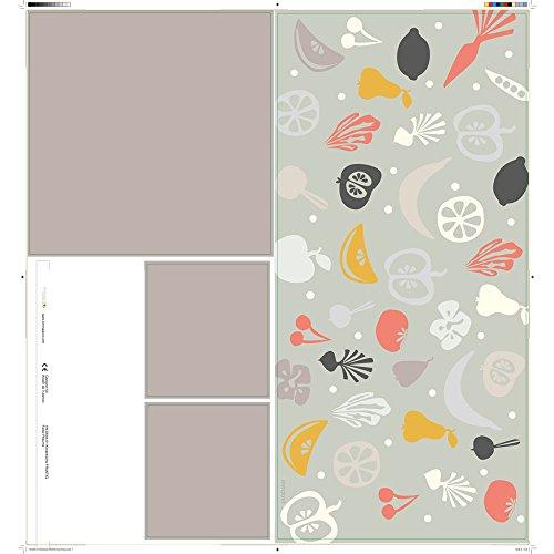 Klebefolie passend für deine IKEA Kinderküche DUKTIG (Farbe Pflaume) - Kinderzimmer Dekoration - Möbel nicht inklusive -